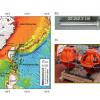 張翠玉老師利用台灣東部海域的海底地震儀陣列資料,解算出深海內潮(>1,000 m)的平面傳播方向以及速度,提供深海內潮與海底地形之間能量耗散作用的具體觀測。