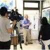 中天新聞專訪本所浮標即時觀測尼莎颱風(Nesat)
