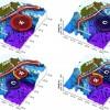 張明輝老師連續兩年的OKTV海流觀測陣列解釋黑潮受渦旋衝擊產生之流軸擺動及流量變動