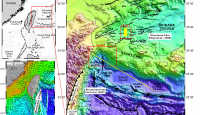 Marine 3D seismic volumes from 2D seismic survey with large streamer feathering.