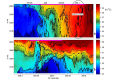 Deep sea floor observations of typhoon driven enhanced ocean turbulence